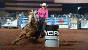 ivy conrado barrel racing wcra semi finals cowgirl magazine
