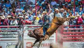 cheyenne frontier days bull riding cowgirl magazine