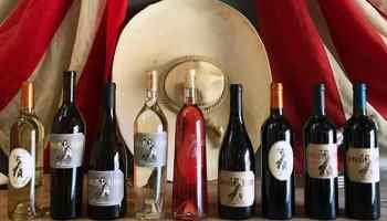 wine bottles from cowgirl winery