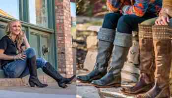reba tall tops Justin boots Justin brands, reba by Justin cowgirl magazine