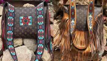 louie Vuitton beaded love jessie longbrake cowgirl magazine