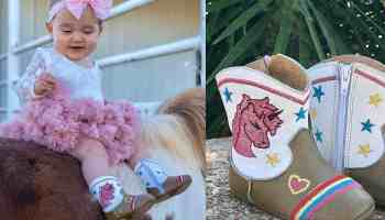shea baby boots unicorn boots baby boot cowgirl magazine