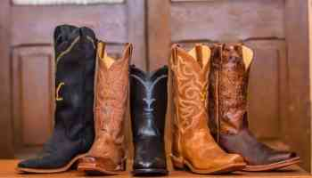 Justin boots yellowstone John Dutton Beth Dutton rip cowgirl magazine