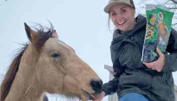 amber marshall ontario canada snow cowgirl magazine