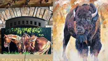 Kathy Sigle art cowgirl magazine