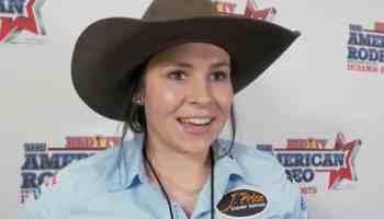 kaycee hollingback breakaway roping champions cowgirl magazine