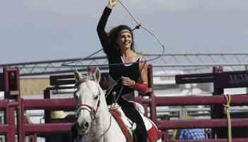 brandi phillips trick riding and roping cowgirl magazine