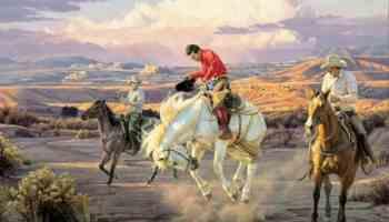 Tim Cox western art artist cowgirl magazine