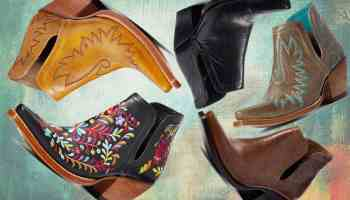 Ariat Dixon boot bootie booties cowgirl magazine western fashion