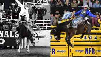nfr Las Vegas national finals rodeo Arlington texas back when they bucked cowgirl magazine
