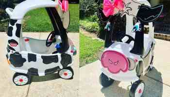 kids cow car cowgirl magazine