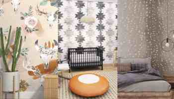 wall paper wallpaper wall blush cowgirl magazine home decor