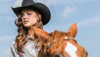 cowgirl on horse cowgirl magazine