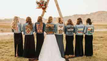 Wedding Jackets Denim Cowgirl Magazine