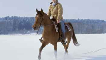 winter riding cowgirl magazine