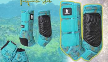 Classic equine turquoise slab sport boots cowgirl magazine