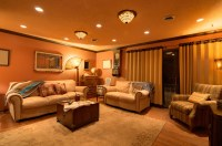 7 Top Family Room Lighting Ideas - Cowhide Rug Tips and ...