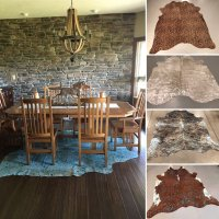 All Natural Cowhide Rugs, Brazilian Hides, Fur Products