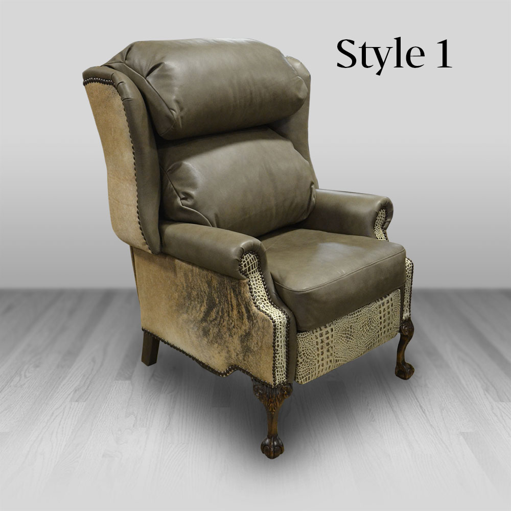 Wingback Recliner Chair Bustleback Wingback Recliner