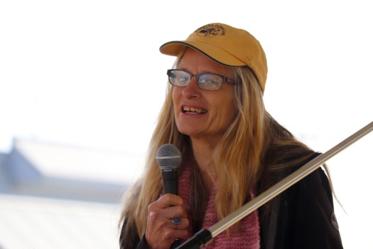 Katy Ehrlich speaks of being a farmer and tells stories from her upcoming book: Katy's Farmhouse Kitchen