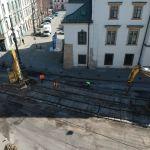 Przebudowa ulicy Krakowskiej. Jak wyglądają postępy prac?