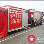 Akcja służb w Modlniczce. Na miejscu kilka jednostek straży pożarnej
