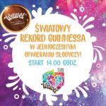 Najsłodszy rekord Guinnessa. Pobij go z Wawelem!
