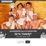 Rozpocznij rok akademicki z Parkiem Wodnym! Zniżki do saunarium