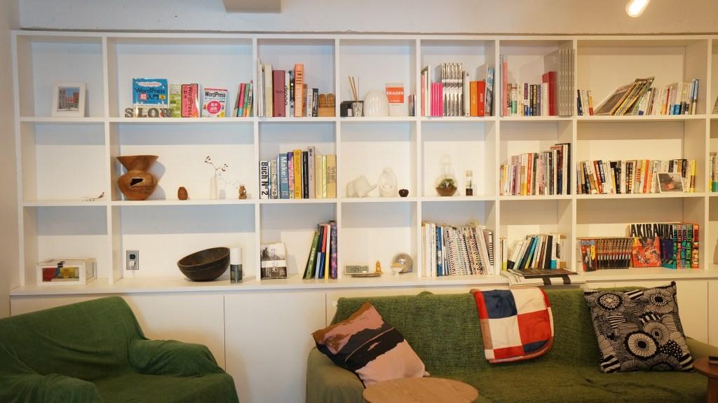 多様な種類の蔵書