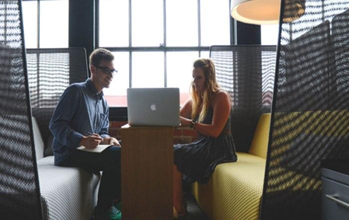 évolution du nombre d'espaces de coworking en France