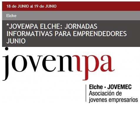 Jornadas informativas para emprendedores impartidas por Jovempa Elche