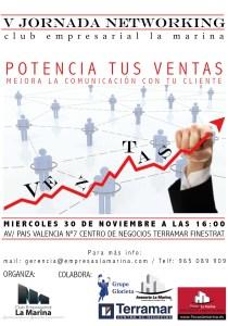 centro de negocios Terramar Benidorm V Jornada Networking