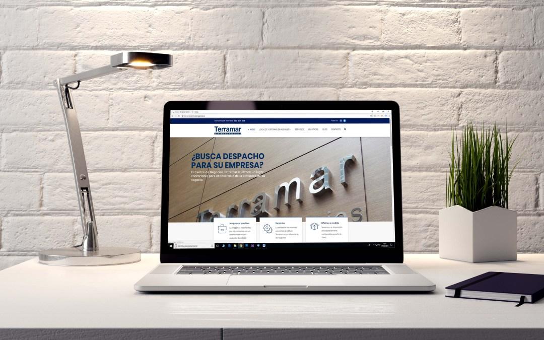 Terramar lanza una nueva web corporativa más informativa y actual