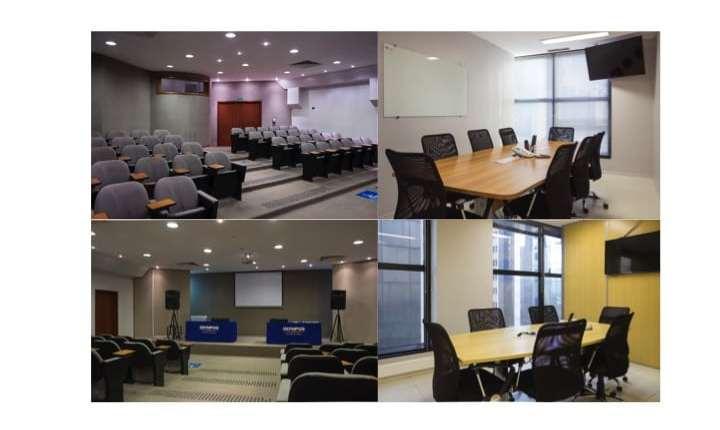 Salas de Reunião e Auditório: Capacitação usando Coworking