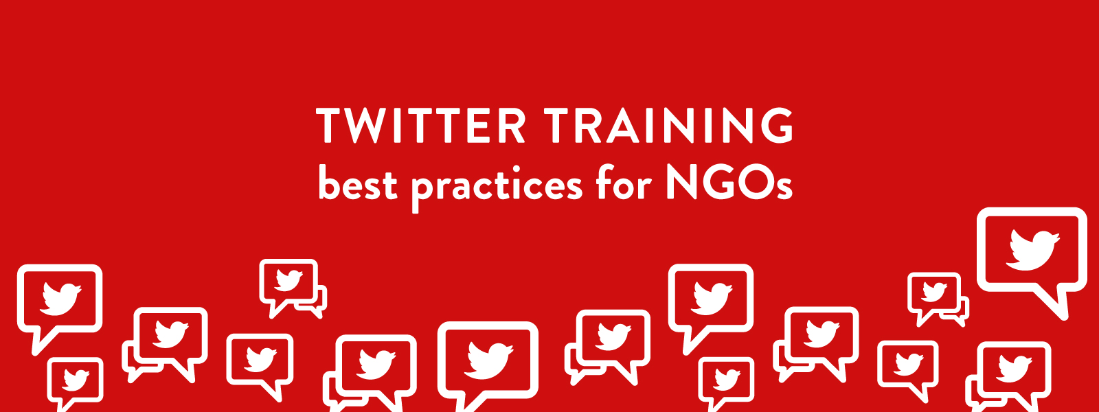 twitter training session for ngo