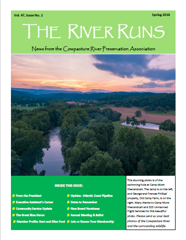 The River Runs Spring 2018