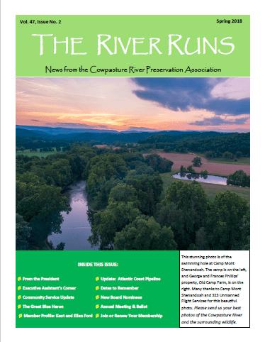 The River Runs Spring 2018