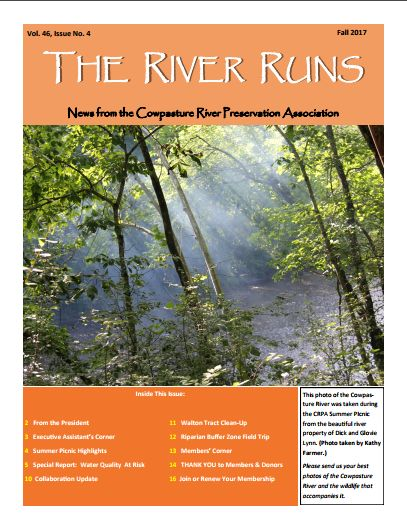 The River Runs – Fall 2017 Now Available Online