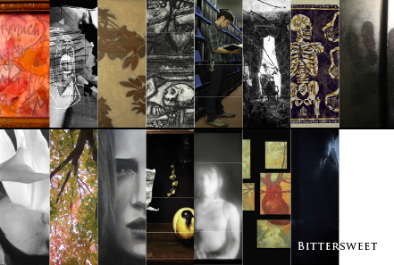 Bittersweet Postcard Front - Opening October 16, 2009