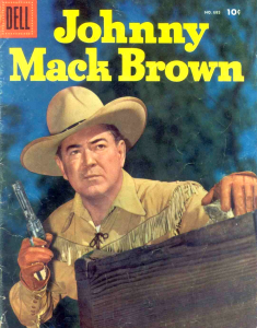 Johnny Mack Brown - Comic Book Cover