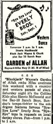 Garden of Allah Ad (Image)