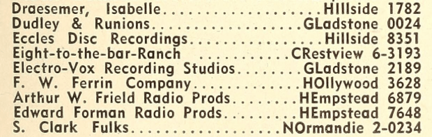 Radio Annual Directory (Image)