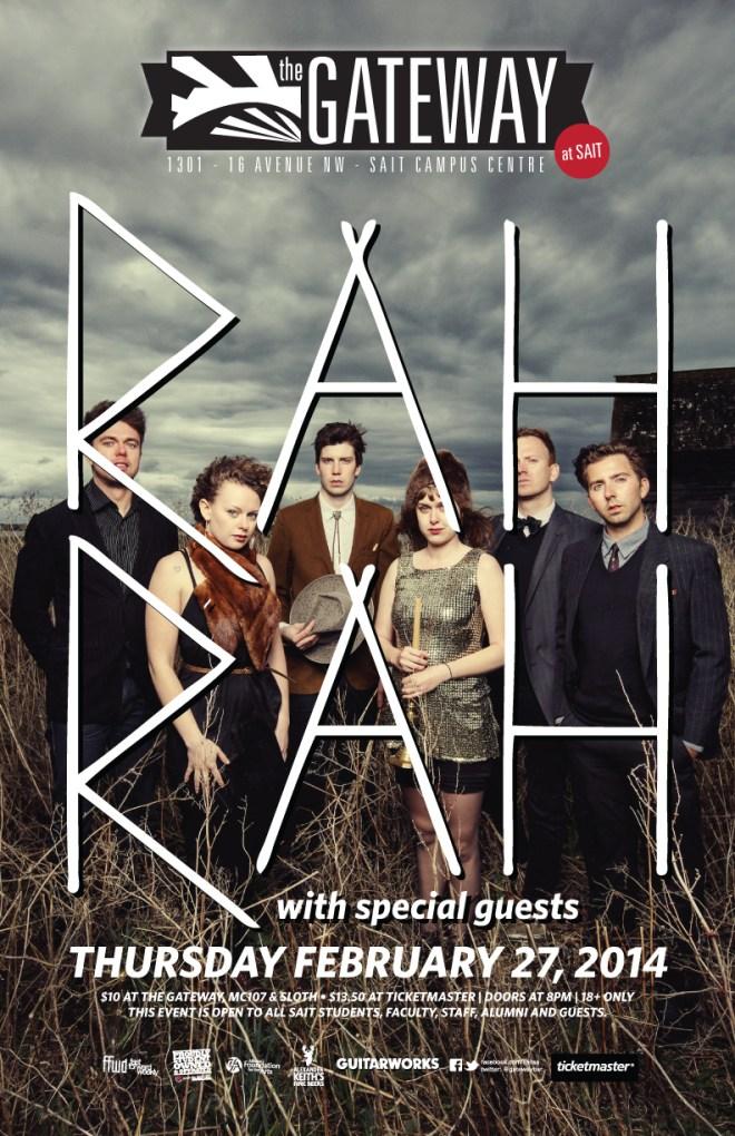 Rah Rah w/ Cowpuncher - Feb 27, 2014