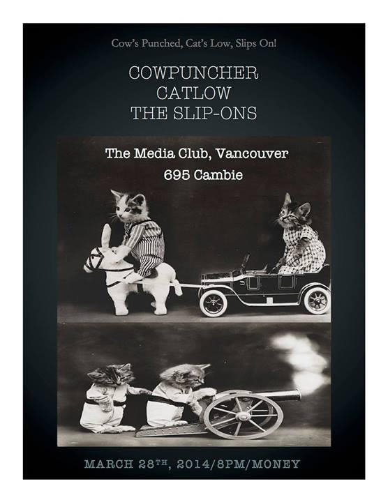 March 28 - Vancouver - Media Club