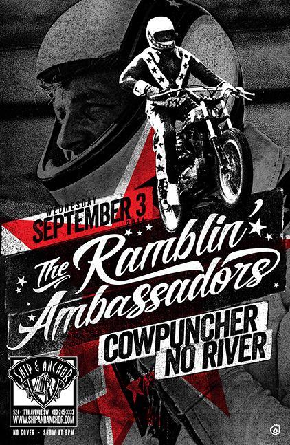 Sept 3, 2014 - Ship & Anchor w/ Ramblin' Ambassadors & No River