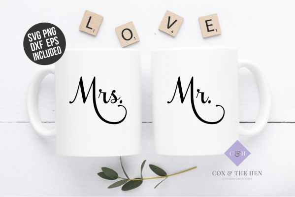 mr and mrs SVG - Wedding Svg - Engagement Svg- Future Mrs. Svg - Cricut - Cameo - Cutting File - Png svg dxf eps - diy bride