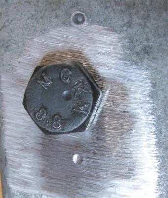 8.8 bolt head