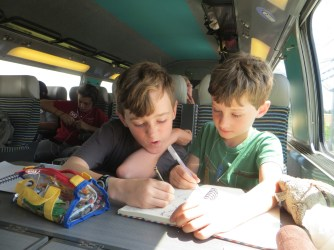 30 July 15 - TGV to Lyon (2)