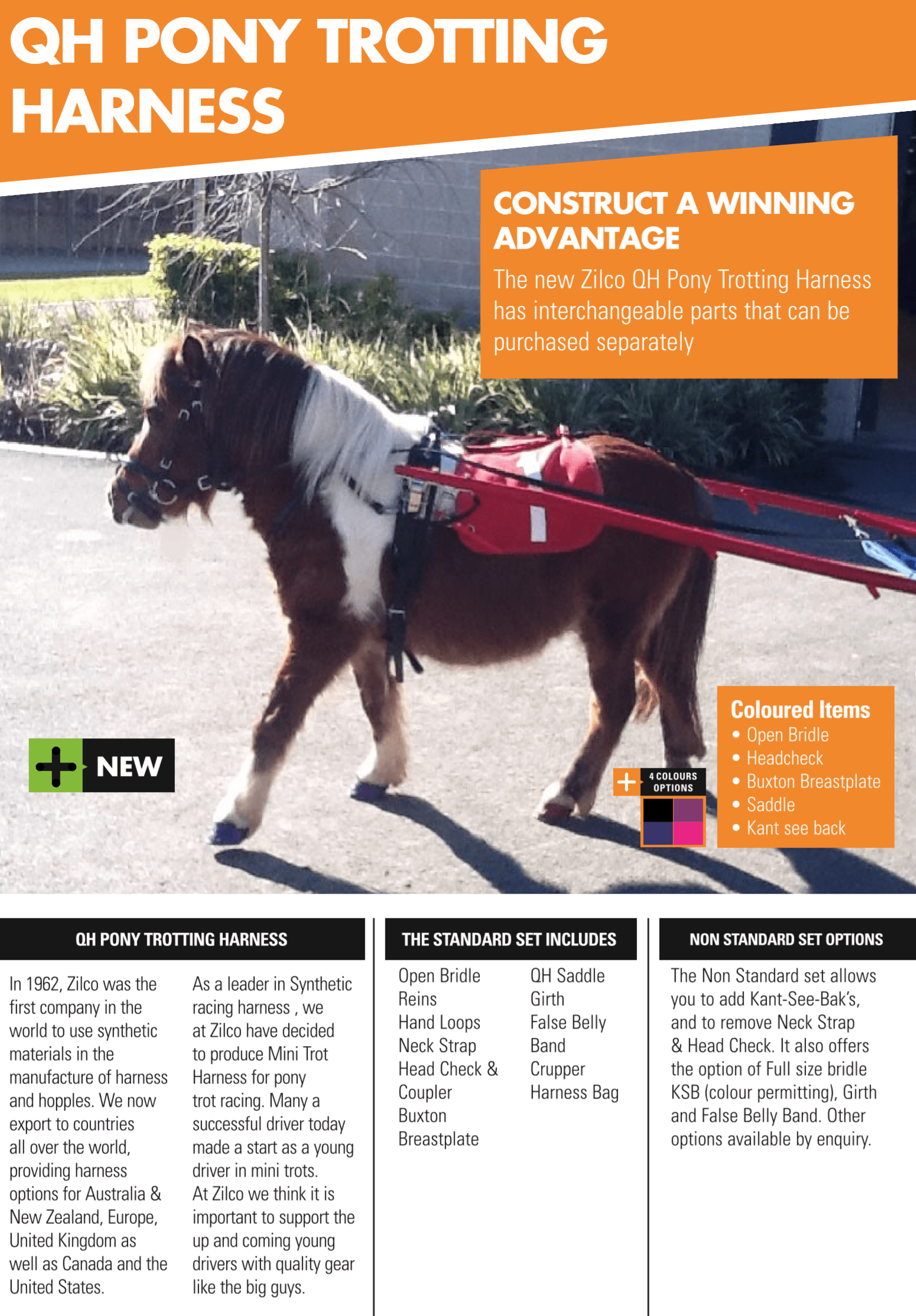 hight resolution of please click here to view zilco s pony trot range