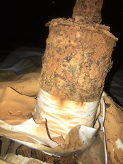 Corroded Post